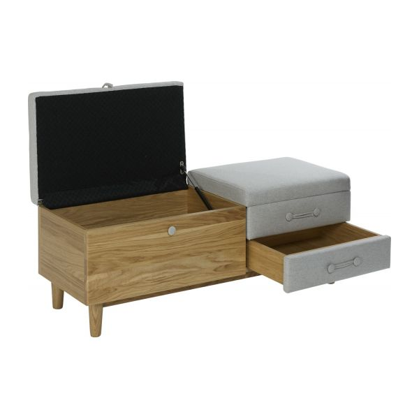 hako banc avec rangement habitat. Black Bedroom Furniture Sets. Home Design Ideas