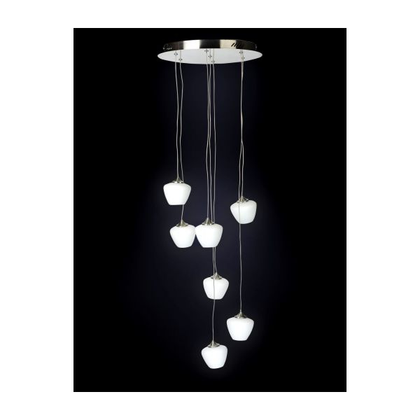 Alys ceiling light fitting white glass habitat 7 globe lighting chandeliers n2 mozeypictures Gallery