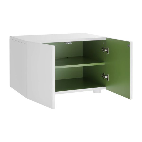 Aspen petit buffet laqu habitat for Petit buffet salon