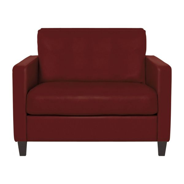 Compact Leather Sofa N°1
