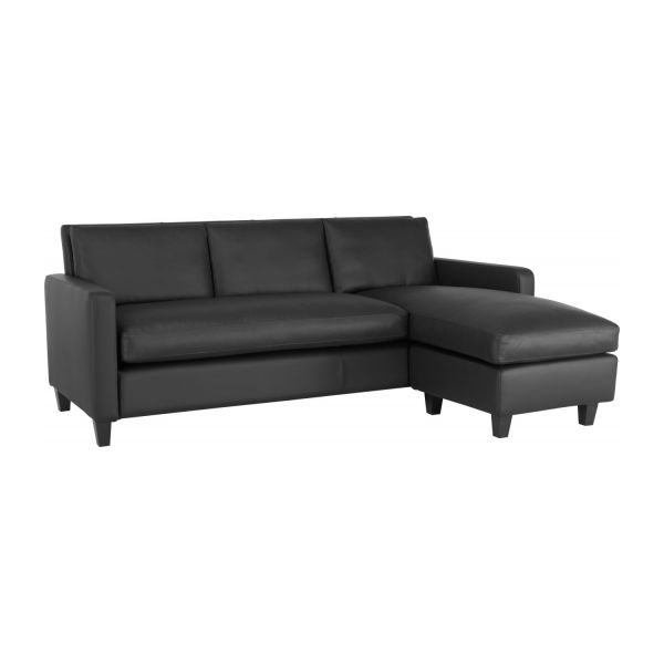 Leather Corner Sofa N°1
