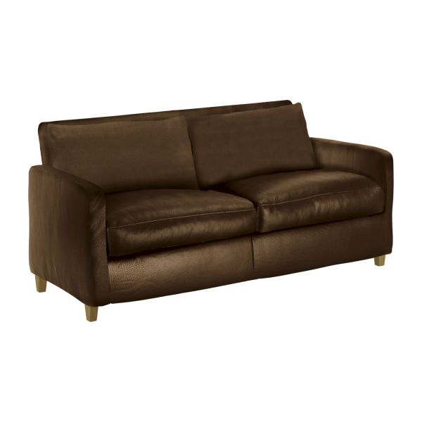 chester canap s canap 2 places bronze cuir habitat. Black Bedroom Furniture Sets. Home Design Ideas