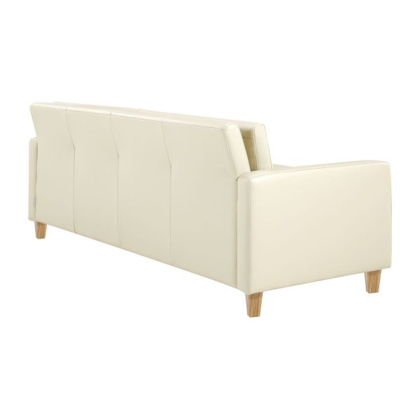 3 seat leather sofa n°4