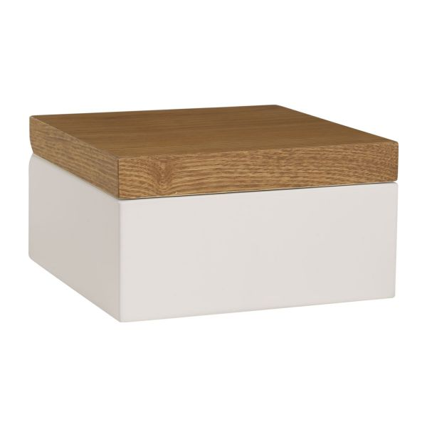 Array bo tes blanc naturel bois laqu habitat for Boites de rangement decoratives