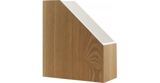 Array stationery white natural wood lacquered habitat