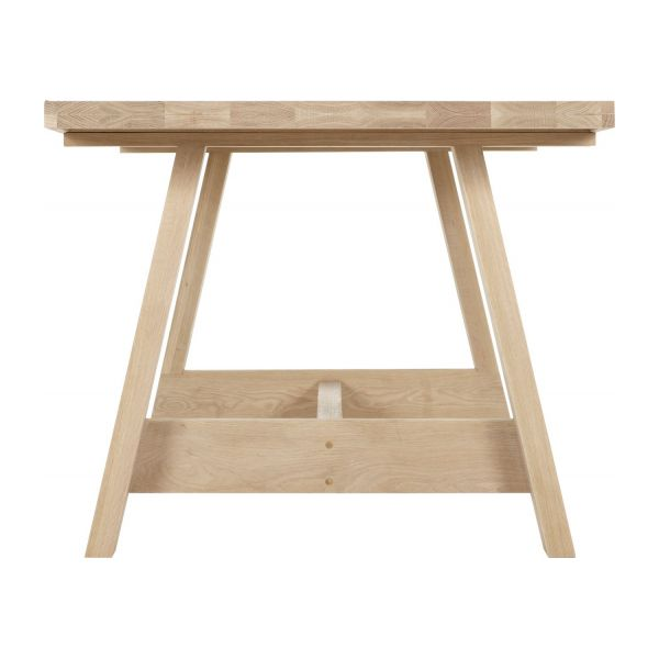 Ethan table de salle manger en ch ne habitat - Table a manger habitat ...