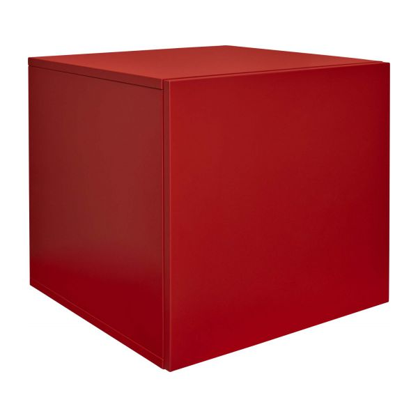 bocksey meubles composer rouge bois laqu habitat. Black Bedroom Furniture Sets. Home Design Ideas