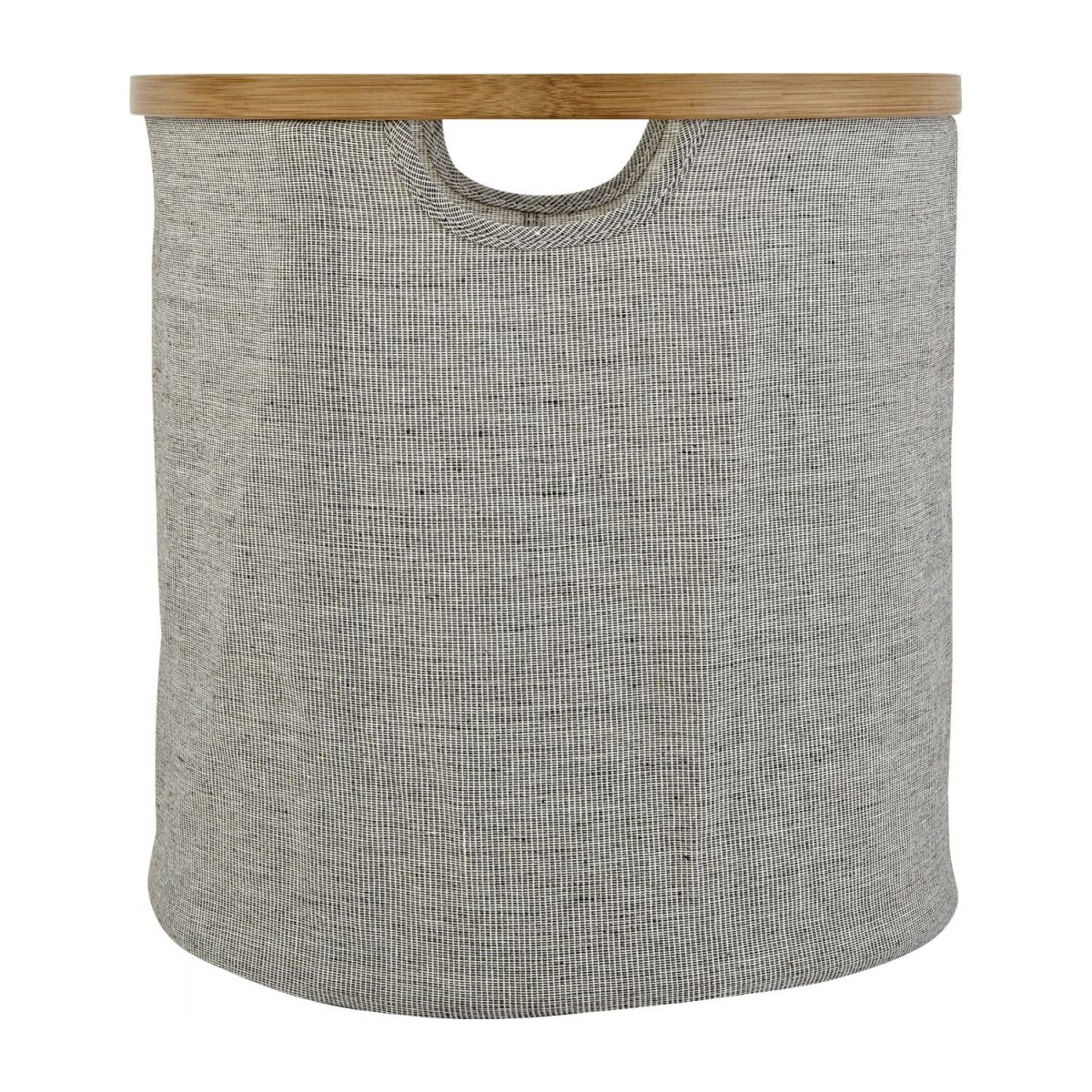 small round laundry basket n°3