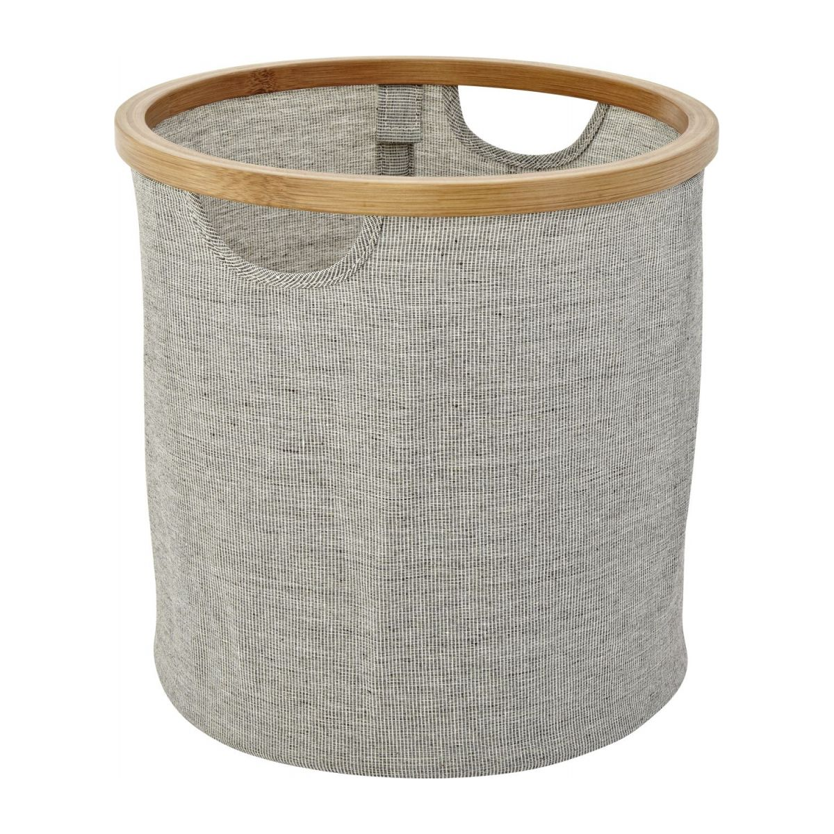 small round laundry basket n°1