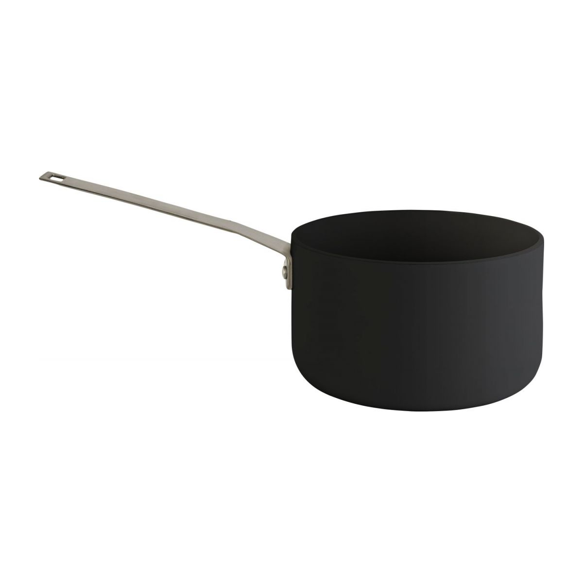 Aluminium saucepan and lid 18 cm with inner coating in Teflon n°4