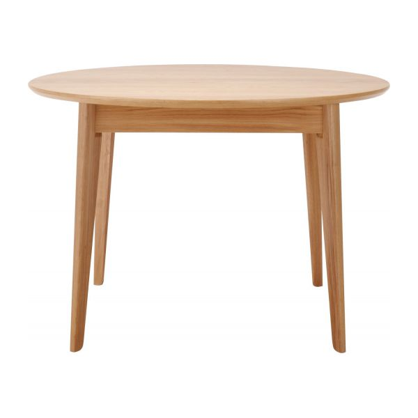 Moder dining room tables natural wood habitat for Table salle a manger tronc d arbre
