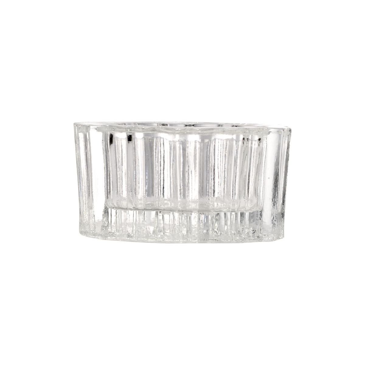 glass candle holders x6 n°2