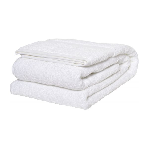white coton bath sheet n1