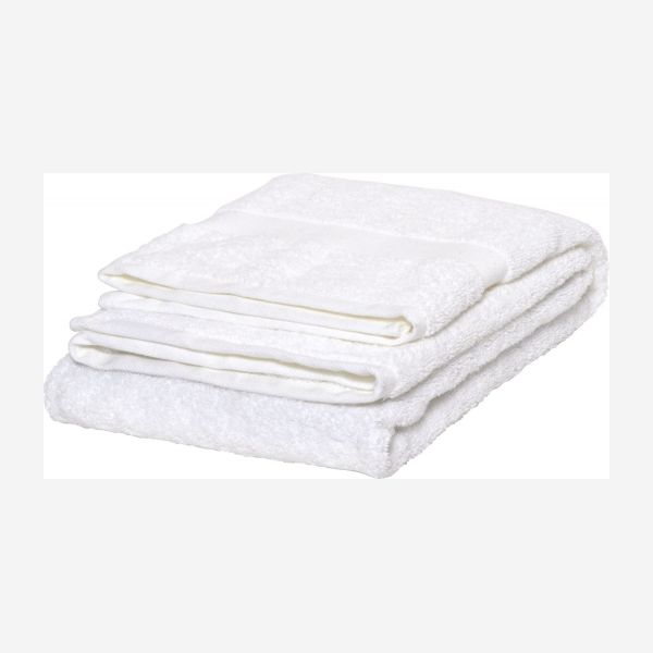 White coton towel