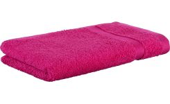 Pink coton face flannel