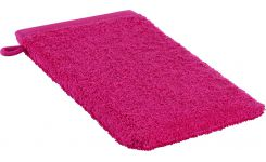 Pink coton washcloth