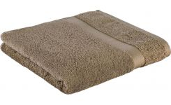 Taupe coton towel