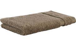 Taupe coton face flannel