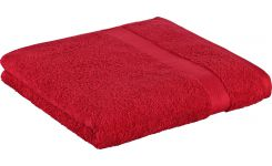 Red coton towel