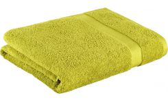 Green coton bath sheet