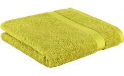 Green coton towel