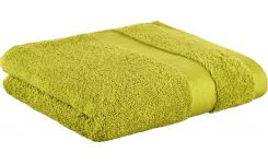 Green coton bath towel