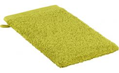 Green coton washcloth