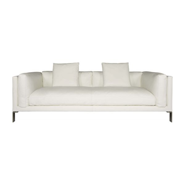 Leather 3 seater sofa n°3