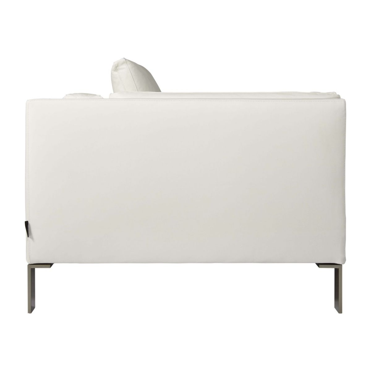 Leather right-arm chaise longue n°5