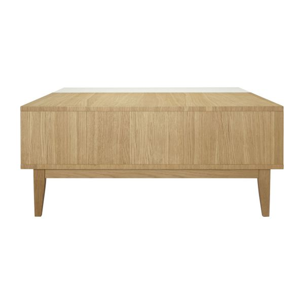 benjy tables basses blanc naturel bois habitat. Black Bedroom Furniture Sets. Home Design Ideas