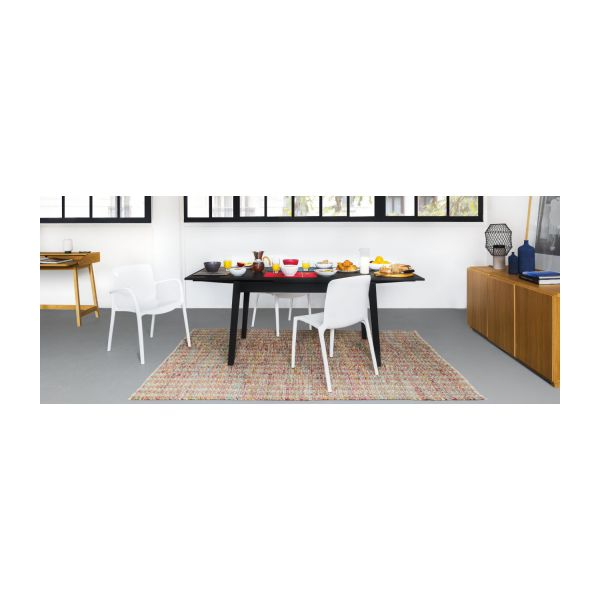 ruskin - expandable dining room table - habitat