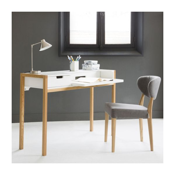 farringdon bureaux blanc naturel bois habitat. Black Bedroom Furniture Sets. Home Design Ideas