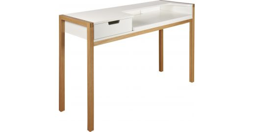 Farringdon desks white natural wood habitat