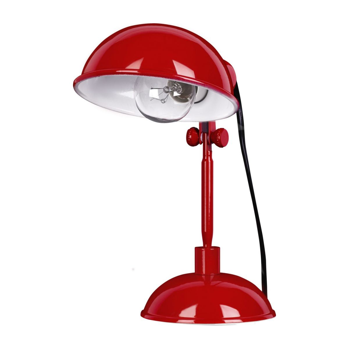 Red carmine desk lamp n°3