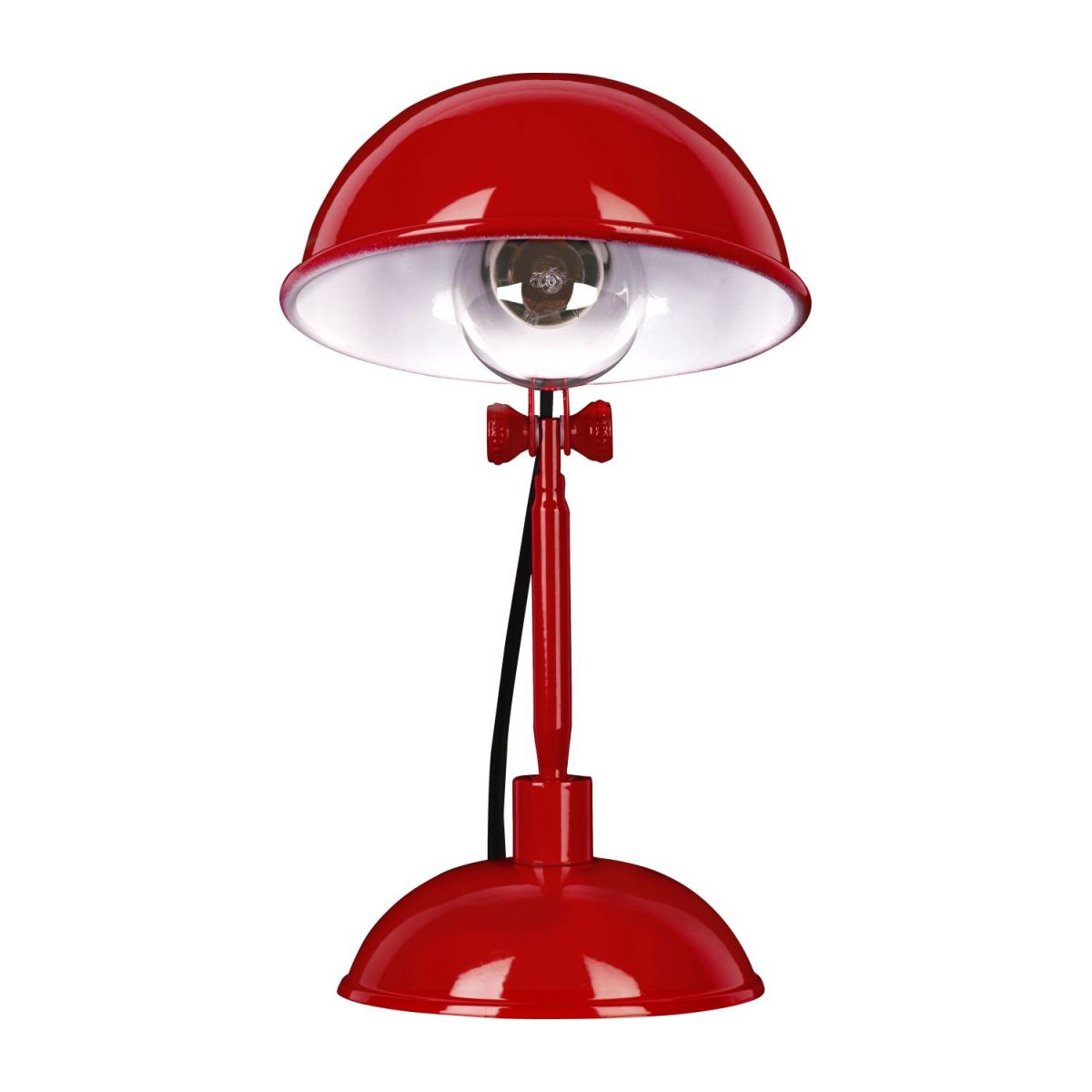 Red carmine desk lamp n°2