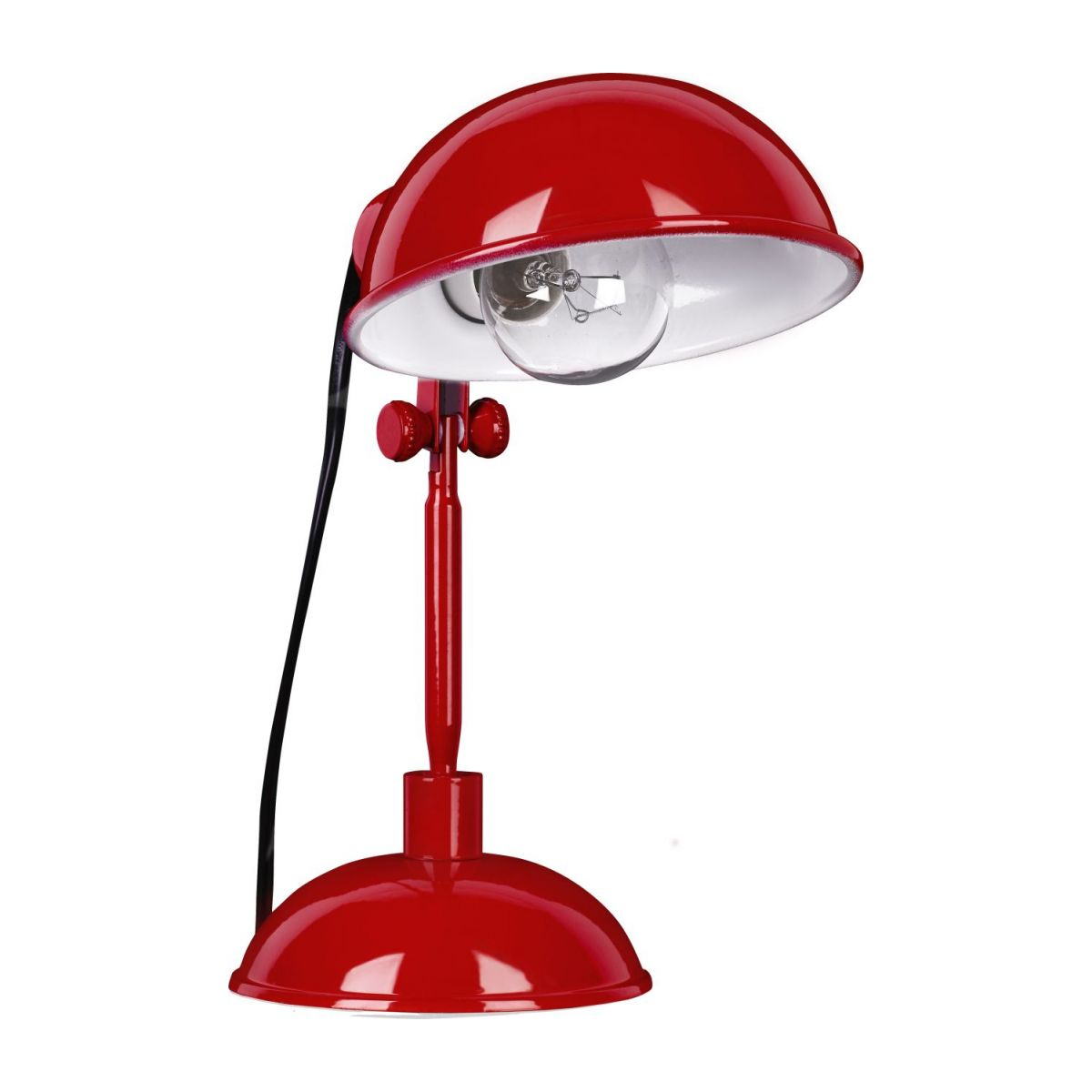 Red carmine desk lamp n°1