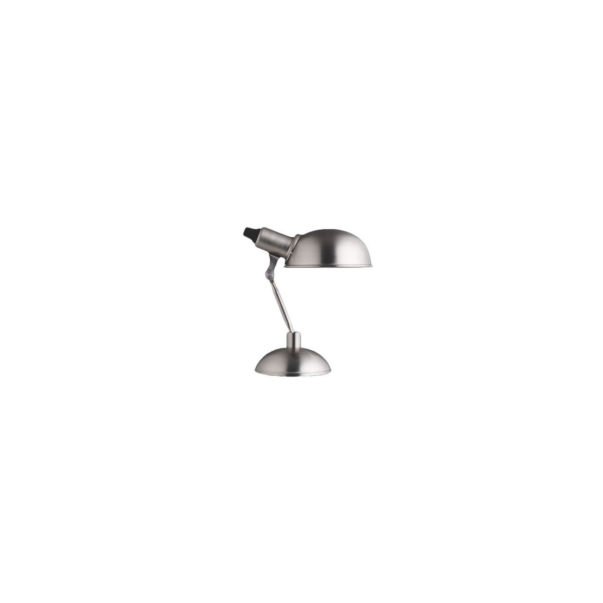 Steel desk lamp
