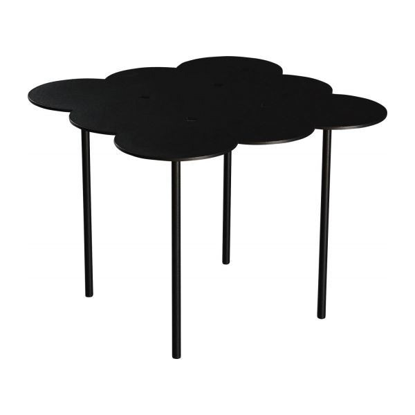 Biscuit tables gigognes noires habitat - Table gigogne habitat ...
