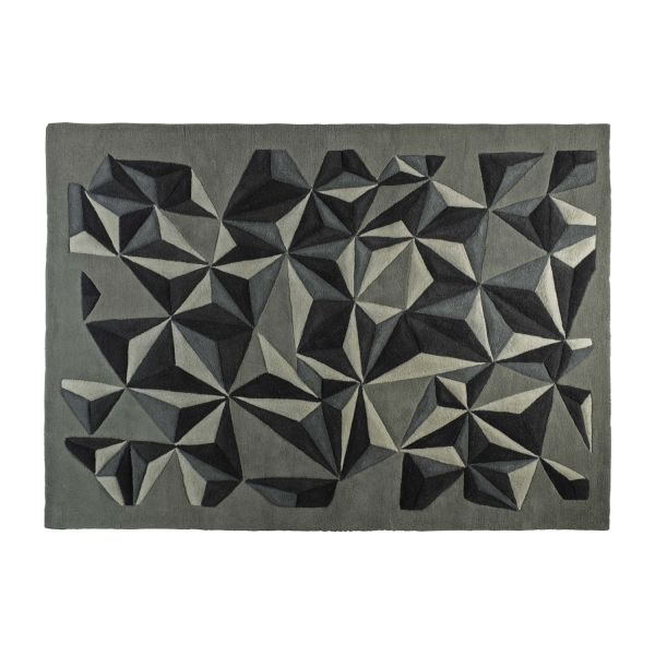 Hand-tufted wool rug 170x240 cm n°3
