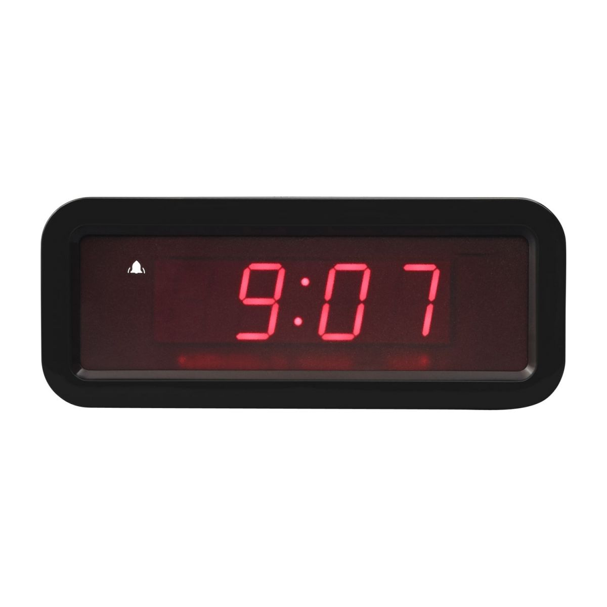 Holographic black Alarm clock n°3