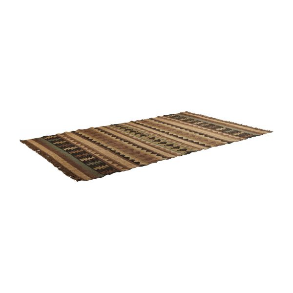 calia tapis en jute 140 x 200 cm habitat. Black Bedroom Furniture Sets. Home Design Ideas