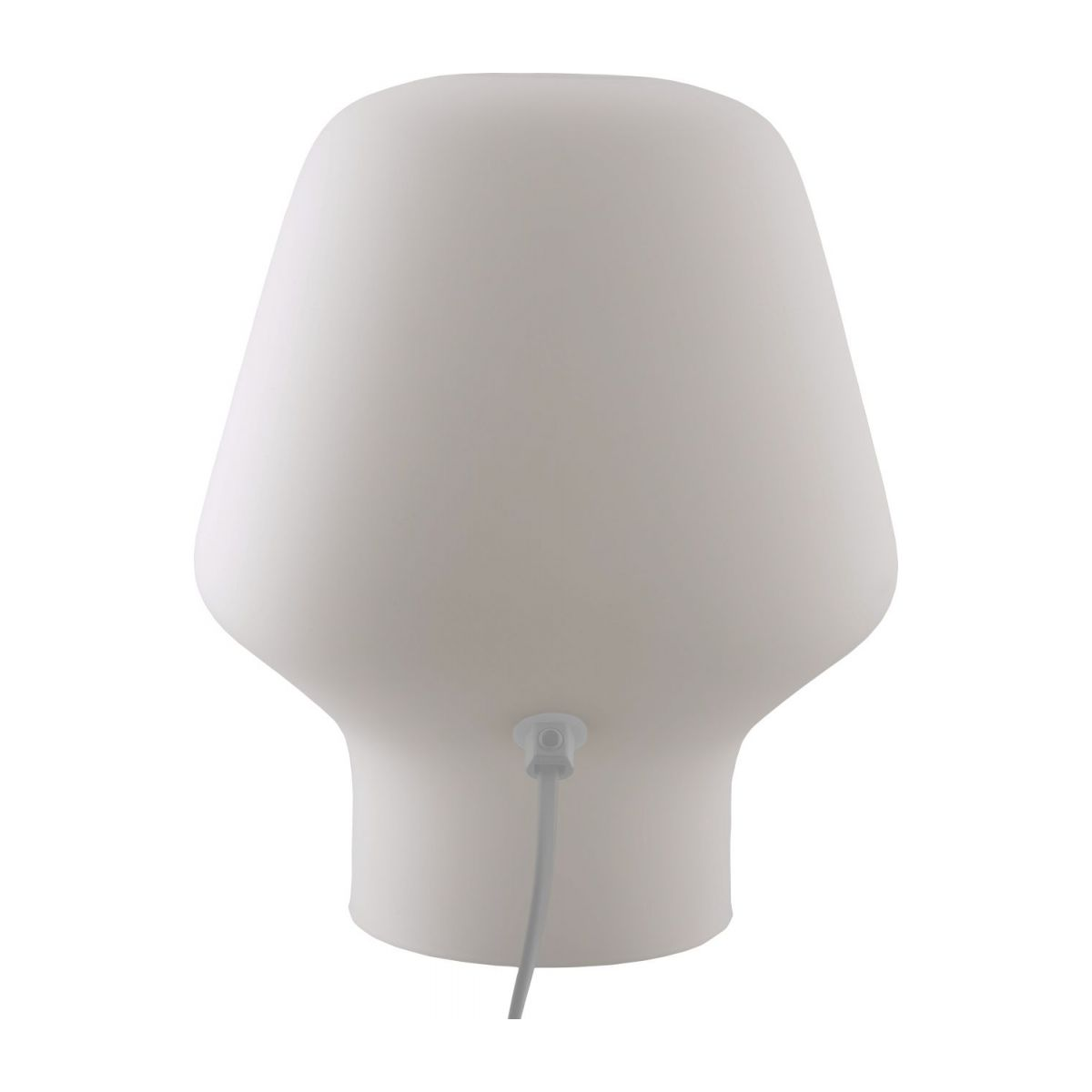 Small frosted glass table lamp n°2