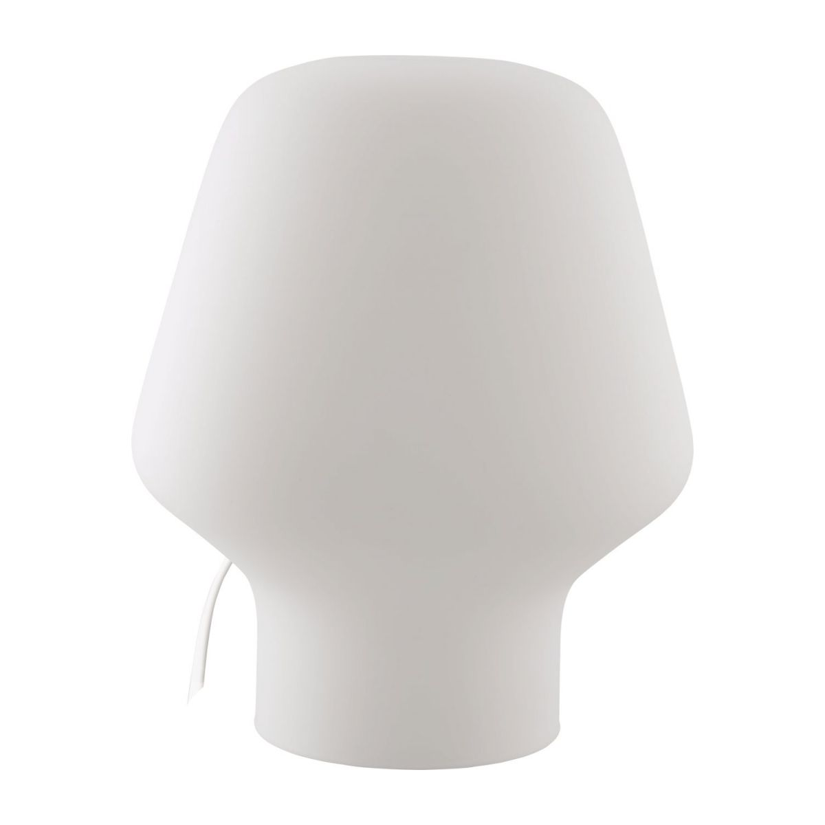 Small frosted glass table lamp n°1