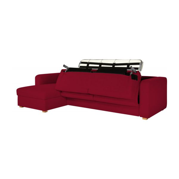 Porto Canap S Canap D 39 Angle Convertible Rouge Tissu Habitat