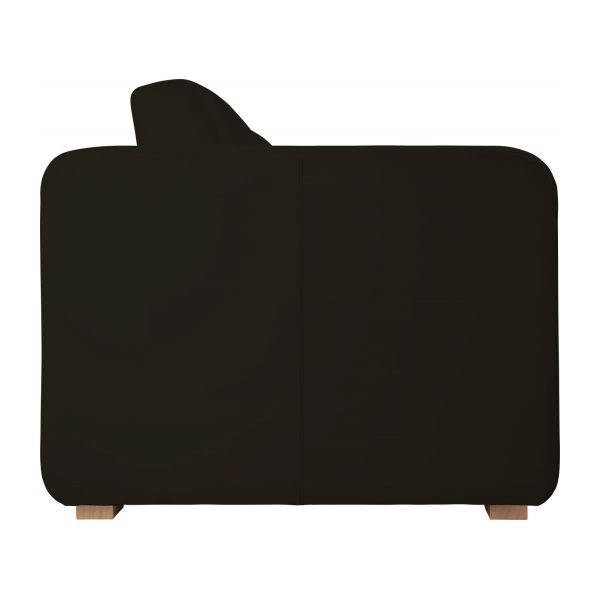 porto canap s canap 3 places convertible brun cuir habitat. Black Bedroom Furniture Sets. Home Design Ideas