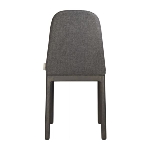 Chair in grey charcoal fabric n°4