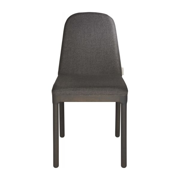 Chair in grey charcoal fabric n°3