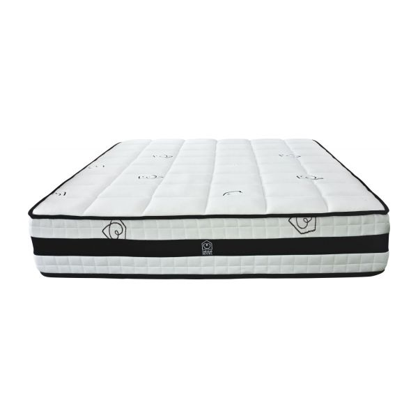 140x200 cm roll-compressed memory foam mattress n°2