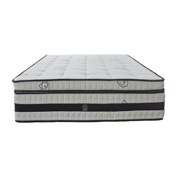 deluxe hotel matelas blanc habitat. Black Bedroom Furniture Sets. Home Design Ideas