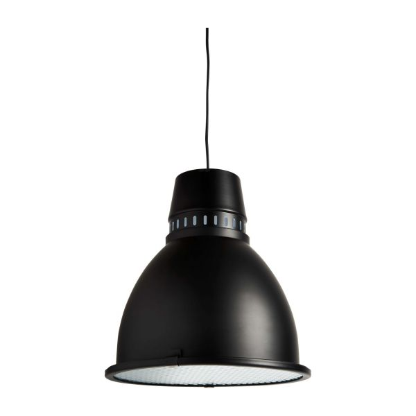 Matt black metal ceiling light n1